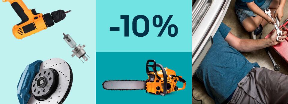 10%-Gutschein* für dein Projekt – Pack es an - 10%-Gutschein* für dein Projekt