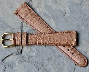 Light-color-Exotic-Gallo-19mm-vintage-tapered-shape-watch-band-L-de-Beer-France