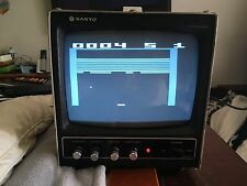 """Sanyo VM4209 Vintage 9"""" Video Monitor with input video cable, Great Condition..!"""