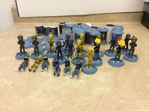 Details About Halo Avatar Figure Lot W Gold Master Chief See Pics