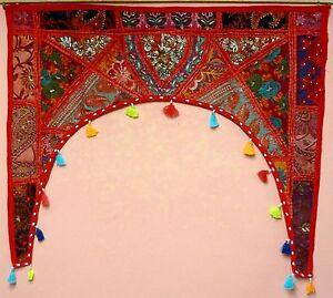 Indian-Embroidered-Wall-Door-Interior-Hanging-Toran-Handmade-4-Different-Types