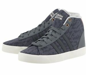 new product 1cc9d f6994 Image is loading Adidas-NEO-Women-Shoes-Cloudfoam-Daily-QT-Mid-