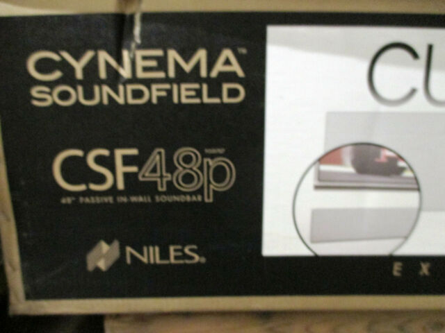 Niles Cynema Soundfield Soundbar Speaker CSF48A Black