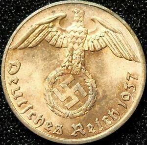 1-Reichspfennig-1937-A-3-Reich-GUTER-ZUSTAND-4764