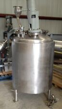 150 Gallon Reactor Built By Lee 316l Stainless Steel Rated Full Vacuum