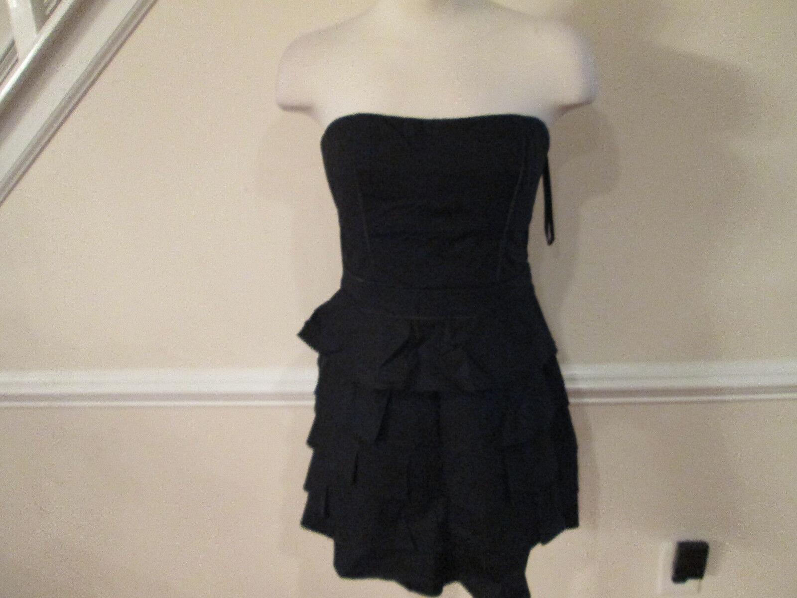 2b bebe corset tier dress s new
