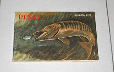 Giorgio Bini PESCI I pesci delle acque interne d'Italia - Garzanti 1 ed 1962