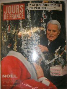 Jours-de-France-N-214-20-decembre-9158-Charlot-Charlie-Chaplin-La-chunga-Noel