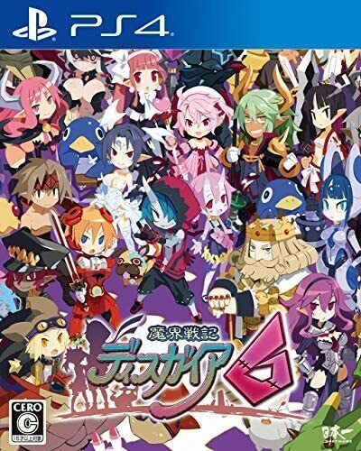 (JAPAN) PS4 video game - Disgaea 6: Defiance of Destiny - PS4