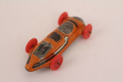 11 Blechauto Blechspielzeug Penny Toy Tintoy orange Distler Rennwagen Nr Autos & Lkw