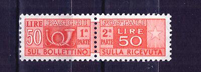 100% Kwaliteit Francobolli Italia Repubblica 1955-79 Pacchi Postali 50 Lire Mnh** Sas89 Nieuwste Technologie