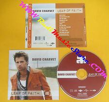CD DAVID CHARVET Leap Of Faith 2002 Europe MERCURY 586687-2 no lp mc dvd (CS10)