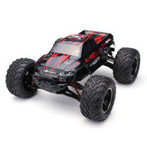 RC-Monster-Truck-Electric-Remote-Control-High-Speed-RTR-9115-1-12-2-4GHz-2WD-red