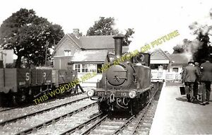 2 Yarmouth and Newport Line Freshwater Railway Station Photo Isle of Wight.
