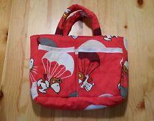 !! Snoopy / Peanuts - Tasche rot Handarbeit aus USA / Einzelstück // NEU !!