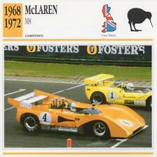 1968-1972 McLAREN M8 Racing Classic Car Photo/Info Maxi Card