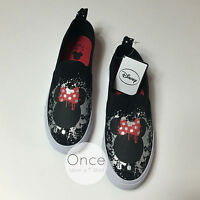 Primark Ladies Disney Minnie Mouse Graffiti Sneakers Trainers Casual Shoes