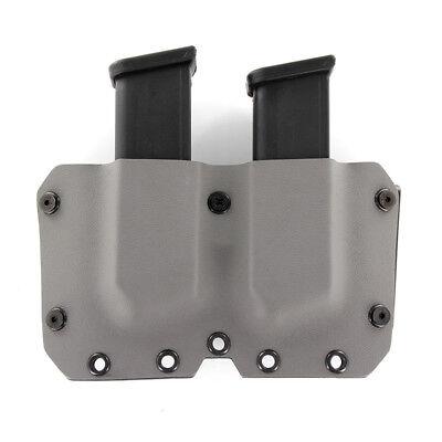 Gun Models Available GUNMETAL GRAY OWB KYDEX SIngle Mag Holster 30