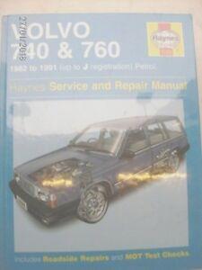 volvo 740 workshop manual ebay rh ebay co uk volvo v60 workshop manual free volvo s60 workshop manual pdf