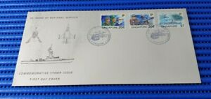 1992 Singapore First Day Cover 25 Years of National Service Commemorative Stamp