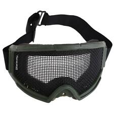 Metal Mesh Pinhole Glasses Goggle Hunting Airsoft Tactical Eyes Protection