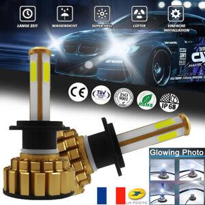 2X-Super-Bright-LED-Phare-de-Voiture-Ampoule-Headlight-Kit-H7-110W-26000LM-6000K