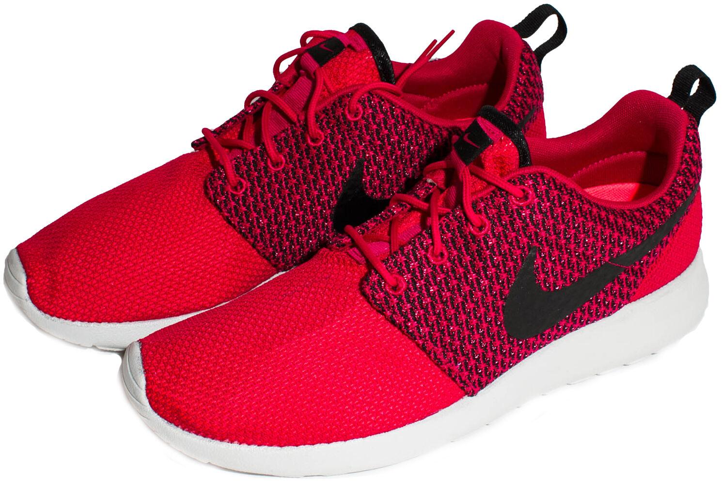Nike Rosherun Men's shoes Fuchsia Force Black Hyper Punch 511881-662 sz. 9-12