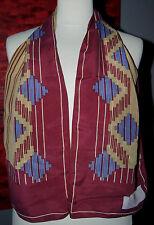 foulard écharpe en soie PIERRE CARDIN 124 cm x 24 cm VINTAGE