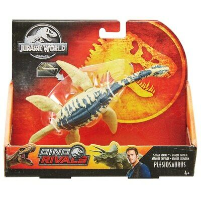 Jurassic World Dino Rivaux Savage Strike Plésiosaure nouveau
