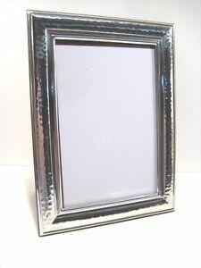 Dettagli su Cornice argento 925 bilaminato,foto 10x15, martellata, TOP  qualità/prezzo