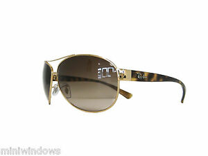 471b015ae7 new authentic RAY BAN Sunglasses RB3386 001 13 Gold Brown Gradient ...
