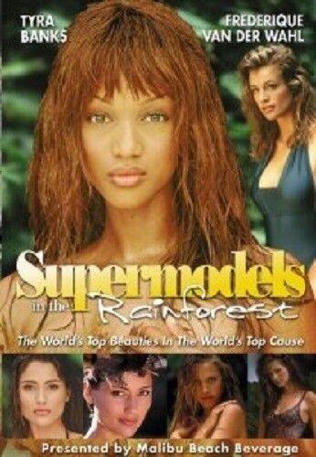 Supermodels In The Rainforest Dvd Tyra Banks Frederique Van Der Wal Ebay