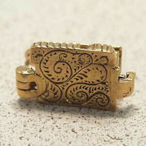 14k Gold Vintage House Charm Opens Home Furniture Ebay