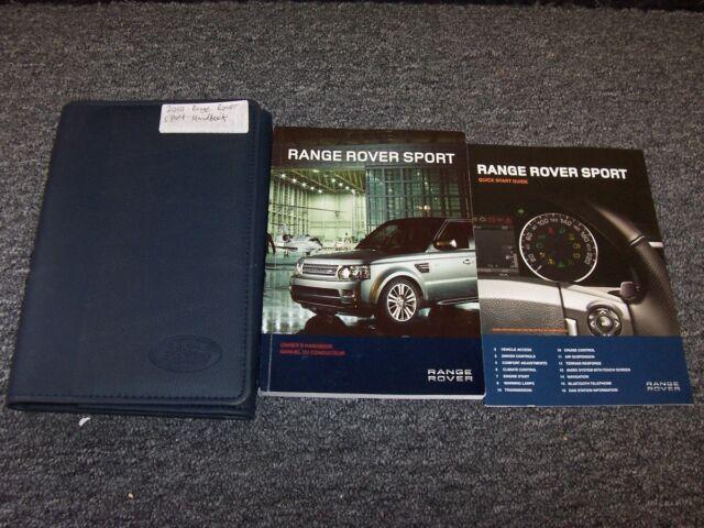 2006 Range Rover Sport Owners Manual Set 06 Case Hse Sc border=