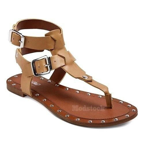 Womens Mossimo Kira Sandals Studded Thong Sandals Kira NWOB C30 6d4f2f