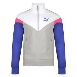 47e0dbc2268a Mens New Puma Retro Zip Track Jacket Tracksuit Top Sports Coat ...