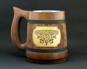 Dungeons /& Dragons Beer Stein D/&D Tankard Dungeon Master Beer Mug