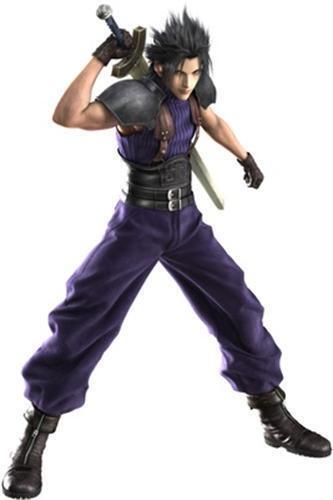 Crisis Core Final Fantasy FF7 Zack Fair Cosplay Costume Custom