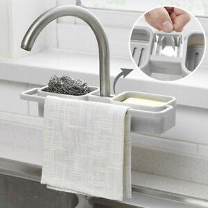 Kitchen-Hanging-Storage-Drain-Basket-Sink-Organizer-Racks-Sponge-Caddy-Holder