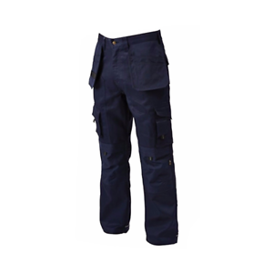 """Mens navy blue  combat outdoor trousers knee pad pockets Waist 42/"""" NEW  W42 L31"""