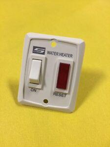 Suburban Rv Water Heater Switch W Indicator Light Ebay