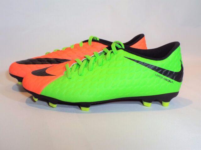 c1170d1f879b Men s Nike Hypervenom Phade III FG Soccer Cleats Size 9.5 (852547 308) Green