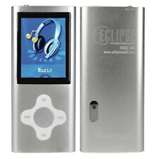 Eclipse 200SL 8GB MP3, MP4 Digital Music, Video Player, Camera - Silver