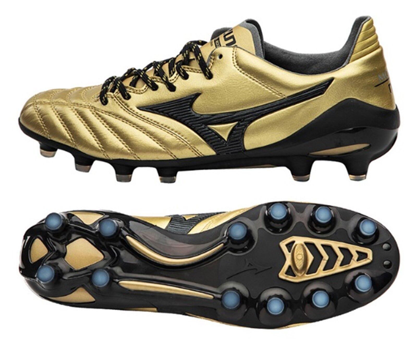 Mizuno Men Morelia Neo II JAPAN Cleats Soccer Gold Football Spike P1GA185050