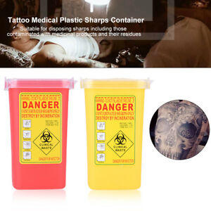 2-Colors-1L-Sharps-Container-Biohazard-Disposal-Needle-Disposal-Waste-Box-JS