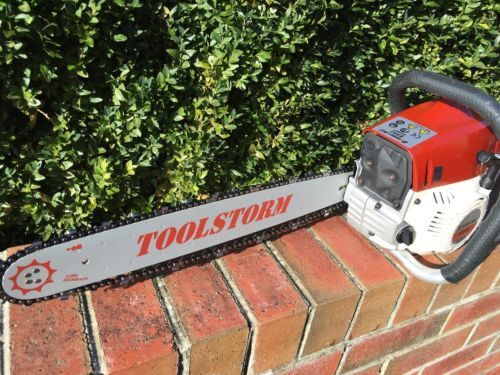 """FOR STIHL CHAINSAW 18/"""" 0.325/"""" 0.063/"""" 68DL CHAINSAW BAR AND CHAIN 2X"""