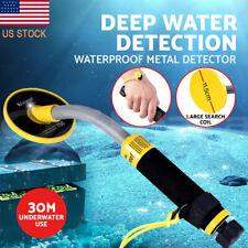 30m Underwater Metal Detector Handheld Fully Waterproof Diving Search Gold Hunt