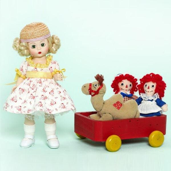 Marcella Nimmt ein Trip mit Raggedy Ann & Andy (61790) von Madame Alexander