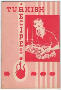 Image Is Loading Turkish Information Office Recipes Vintage Recipe Book