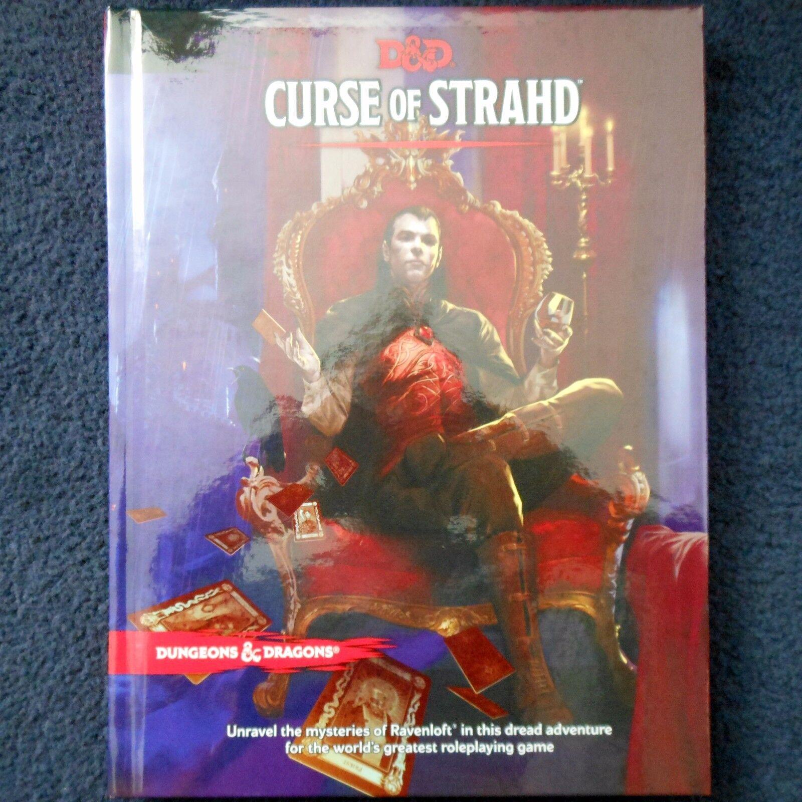 Curse of Strahd 5th Edition Advanced Dungeons & Dragons Vampire Adventure D&D